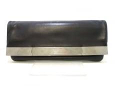 サンローランパリ クラッチバッグ 326154 黒 レザー