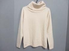 シャネル 長袖セーター サイズ42 L レディース美品  ベージュ