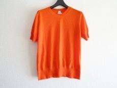 エルメス 半袖セーター サイズ40 M レディース美品  レッド カシミヤ