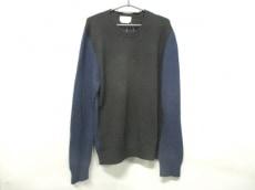 HERMES(エルメス) 長袖セーター サイズM メンズ ダークネイビー