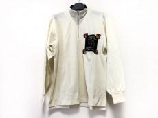 アダバット 長袖カットソー サイズ1 S メンズ イエロー×マルチ 刺繍