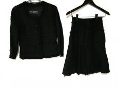 ボディドレッシングデラックス スカートスーツ サイズ36 S 黒
