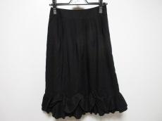 ソニアリキエル スカート サイズ38 M レディース新品同様  黒 フリル