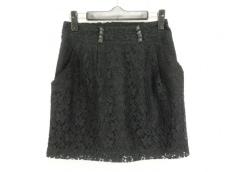ヒステリックグラマー ミニスカート サイズS レディース美品  黒