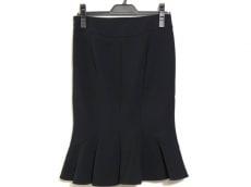 マテリア スカート サイズ36 S レディース美品  黒 プリーツ