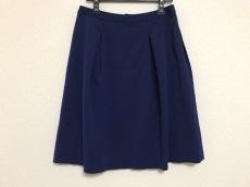 自由区/jiyuku(ジユウク) スカート サイズ40 M レディース ネイビー