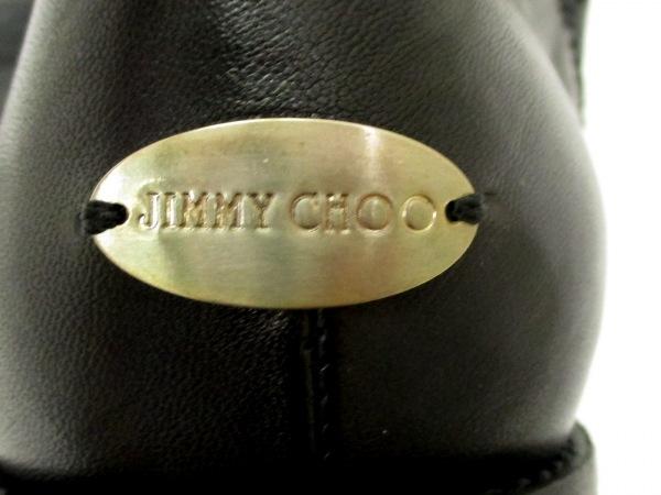 美品 ジミーチュウ ブーツ バイカーブーツ レディース 36 黒 6