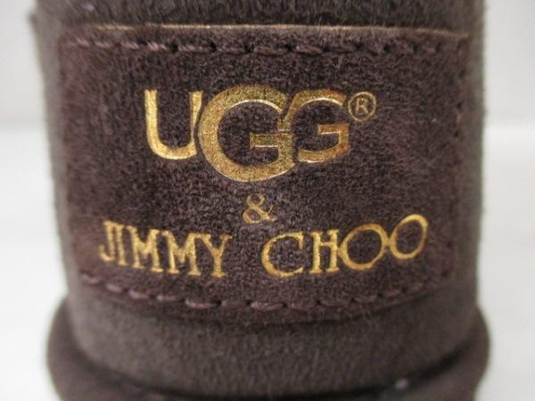 UGG(アグ) ブーツ ジミーチュウ レディース ダークブラウン 6