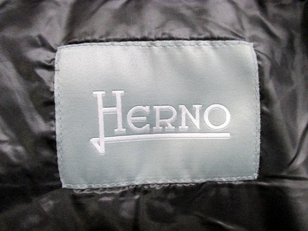 美品 HERNO(ヘルノ) ダウンジャケット レディース 12 5