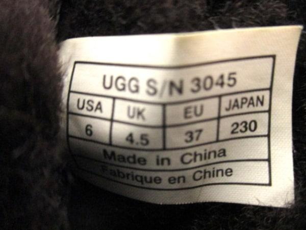 UGG(アグ) ブーツ レディース ダークブラウン ムートン 5