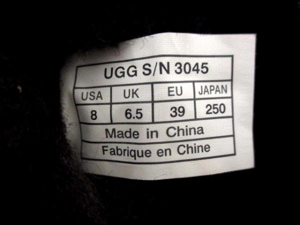 UGG(アグ) ロングブーツ レディース 25 ダークブラウン ムートン 5