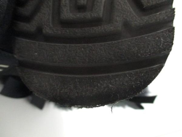 UGG(アグ) ショートブーツ ミニベイリーボウ レディース 黒 ムートン 8