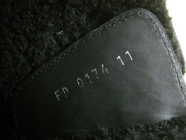 ルイヴィトン ブーツ 11 メンズ 黒 ペコスブーツ レザー 6