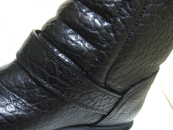 ルイヴィトン ブーツ 11 メンズ 黒 ペコスブーツ レザー 7