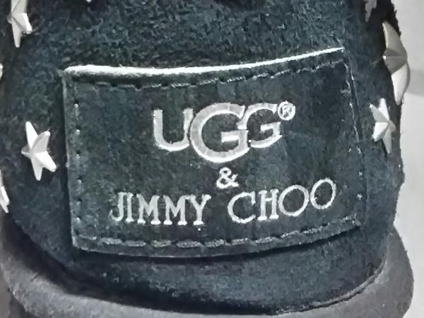 UGG(アグ) ショートブーツ ジミーチュウ レディース 黒×シルバー 6