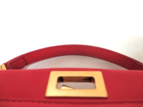 フェンディ ハンドバッグ ミニピーカブー 8BN244 ピンク レザー 8