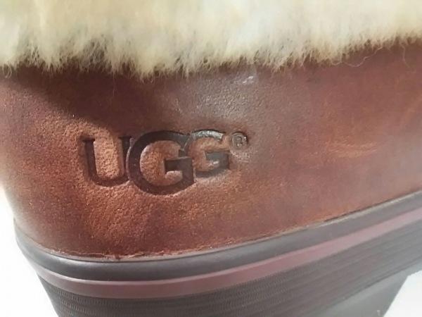 アグ ブーツ レディース美品  リリアン 1001374 レザー×ムートン 5