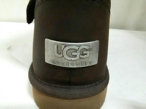 UGG(アグ) ブーツ ケンジントン レディース ダークブラウン レザー 5