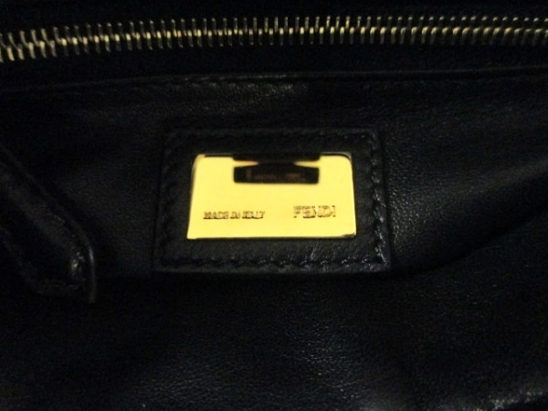 フェンディ ハンドバッグ ミニ ピーカブー 8BN244 ダークグレー 6
