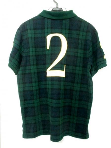 新品同様 ポロラルフローレン 半袖ポロシャツ ビッグポニー メンズ 2