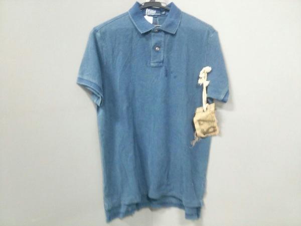 ポロラルフローレン 半袖ポロシャツ L レディース新品同様  ネイビー 0