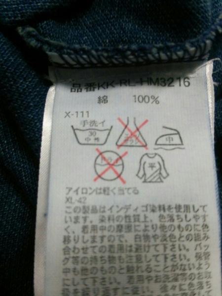 ポロラルフローレン 半袖ポロシャツ L レディース新品同様  ネイビー 4