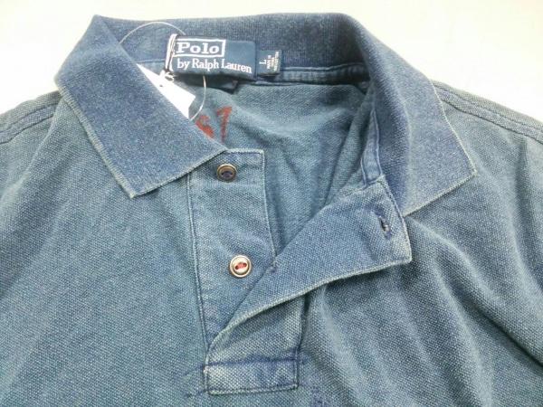 ポロラルフローレン 半袖ポロシャツ L レディース新品同様  ネイビー 5