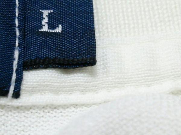 ポロラルフローレン 半袖ポロシャツ L メンズ アイボリー 7