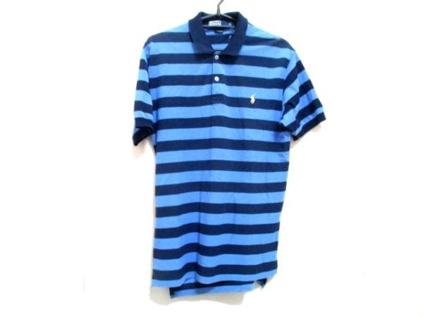 ポロラルフローレン 半袖ポロシャツ M メンズ ボーダー 0