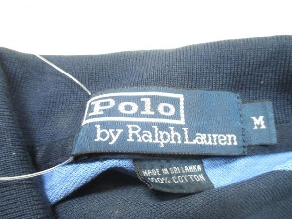 ポロラルフローレン 半袖ポロシャツ M メンズ ボーダー 3