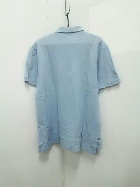 ポロラルフローレン 半袖ポロシャツ L メンズ美品  ライトブルー 2