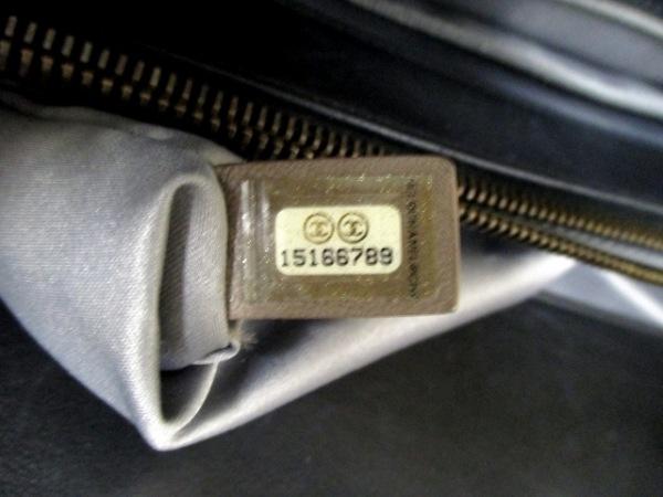 シャネル トートバッグ マトラッセ グレー チェーンショルダー 7