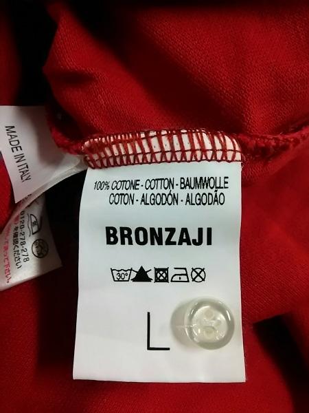 ブロンザージ 長袖ポロシャツ L メンズ 新品同様 タグ付き 4