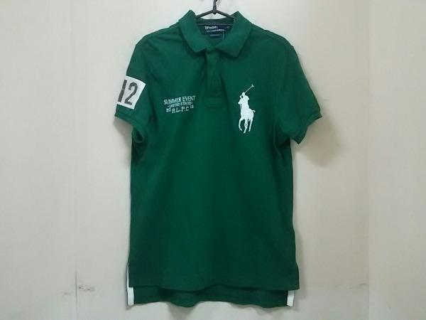 ポロラルフローレン 半袖ポロシャツ L メンズ ビッグポニー グリーン 0