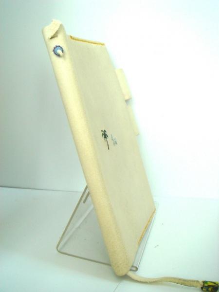 アンリークイール 手帳 ライトグレー 犬/糸井重里 レザー 2