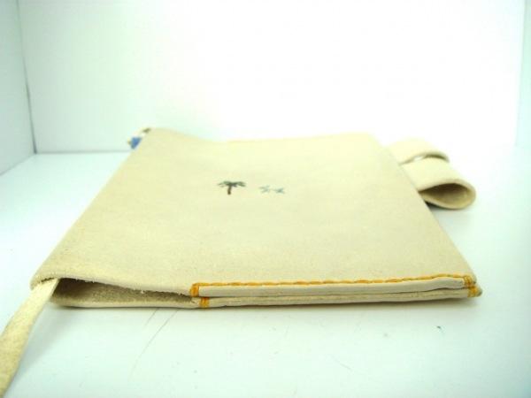アンリークイール 手帳 ライトグレー 犬/糸井重里 レザー 4