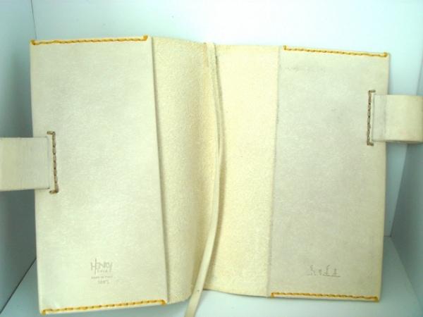 アンリークイール 手帳 ライトグレー 犬/糸井重里 レザー 5
