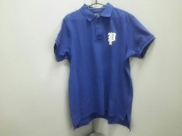 ポロラルフローレン 半袖ポロシャツ L メンズ美品  CUSTOM FIT 0