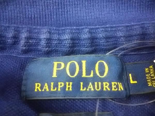 ポロラルフローレン 半袖ポロシャツ L メンズ美品  CUSTOM FIT 3