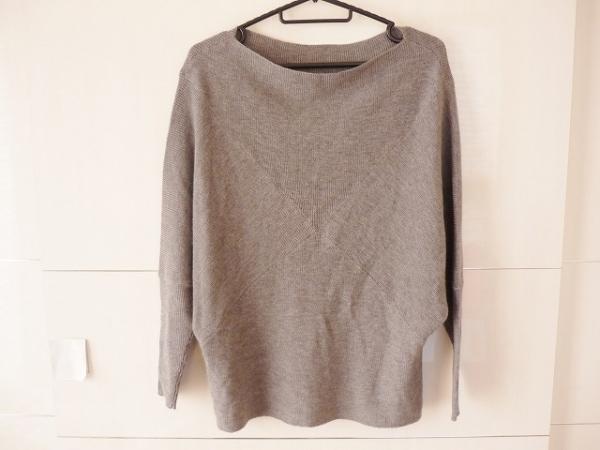ダーマコレクション 七分袖セーター 1 レディース 美品 グレー 0