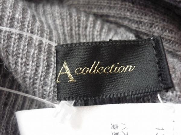 ダーマコレクション 七分袖セーター 1 レディース 美品 グレー 4