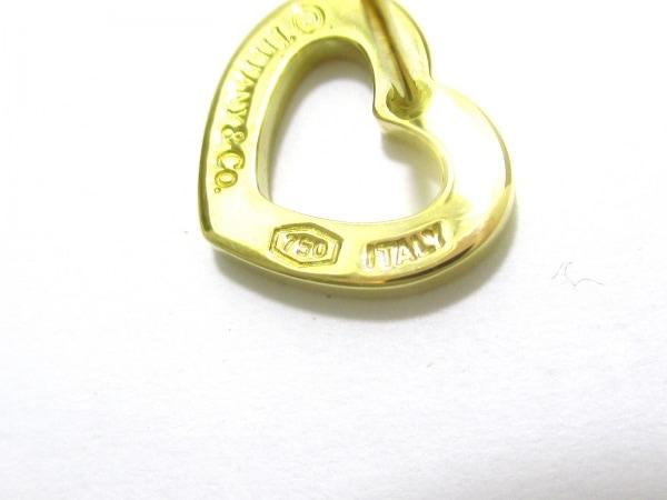 ティファニー ピアス センチメンタル K18YG TIFFANY&Co. 6
