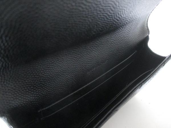 サンローランパリ 財布 美品 414404 黒 レザー 4