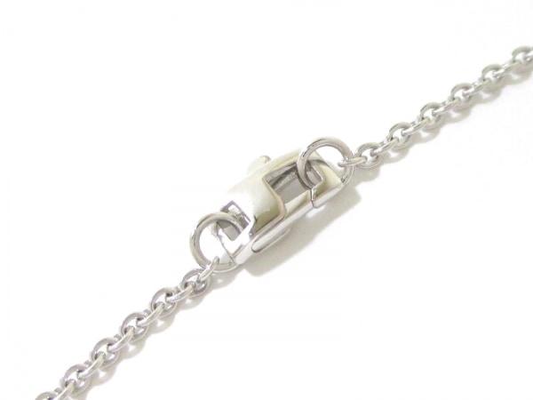 磨き済み ルイヴィトン ネックレス 美品 K18WG×ダイヤモンド 4