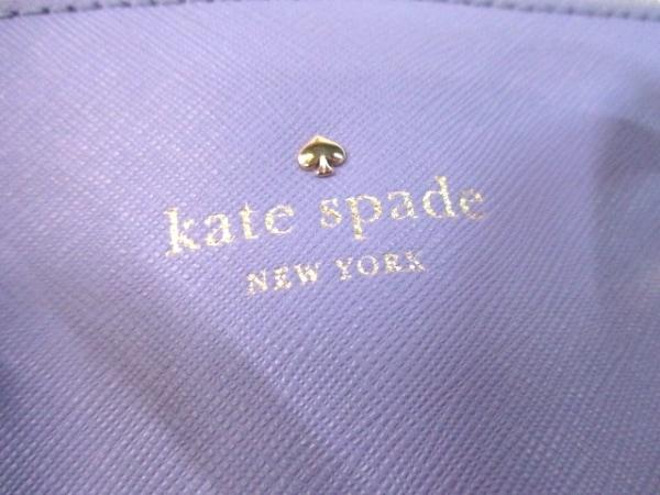 ケイトスペード ハンドバッグ パープル レザー Kate spade 6