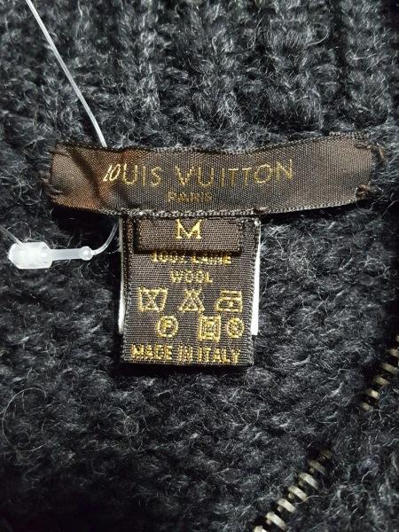 ルイヴィトン 長袖セーター M メンズ ダークグレー 3