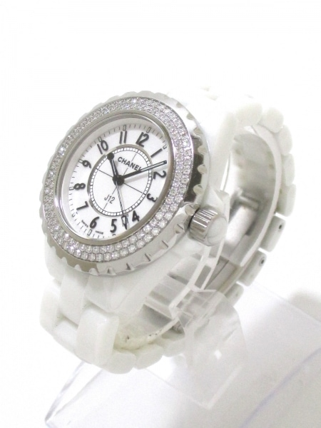 CHANEL(シャネル) 腕時計 美品 J12 H0967 レディース 白 2