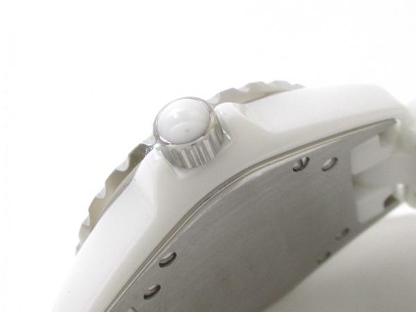 CHANEL(シャネル) 腕時計 美品 J12 H0967 レディース 白 7