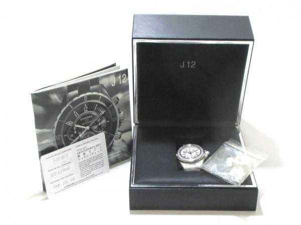 CHANEL(シャネル) 腕時計 美品 J12 H0967 レディース 白 9