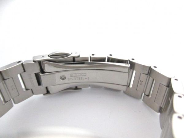セイコー 腕時計 美品 V175-0AJ0 レディース クロノグラフ/ラメ 4